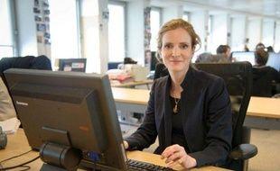 Nathalie Kosciusko-Morizet, à la rédaction de 20 Minutes, avril 2012