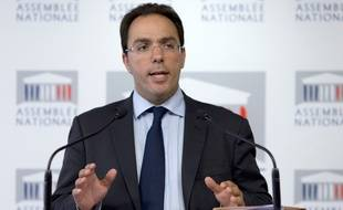 Sébastien Pietrasanta, député PS des Hauts-de-Seine, le 22 juillet 2014 à l'Assemblée nationale.