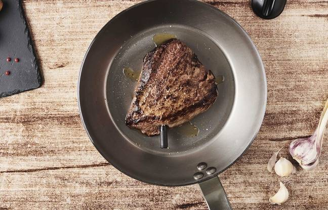 Meat°it + peut être également utilisée en cuisine, avec une poele ou au four.