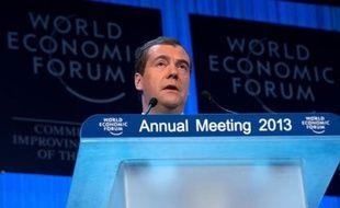 La Russie a enregistré une croissance de son Produit intérieur brut de 3,5% l'an dernier, mais compte atteindre désormais au moins 5% par an, a déclaré mercredi le Premier ministre russe Dmitri Medvedev à Davos (est) devant le Forum économique mondial (WEF).