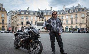 La société toulousaine CX Air Dynamics a crée un surpantalon pour protéger le bas du corps des motards.