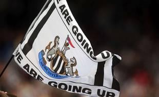 Un drapeau de Newcastle.