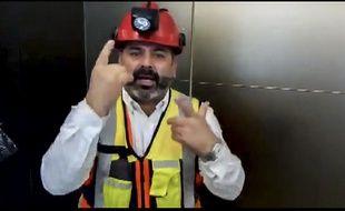 Mario Sepulveda est un des 33 mineurs chiliens, célèbres pour leur sauvetage épique en 2010 après 69 jours sous terre,