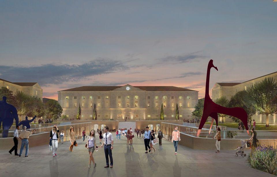 Libourne : Centre commercial du vin, boutiques de luxe, musée de l'auto... Un projet XXL se dessine dans les anciennes casernes