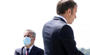 Xavier Bertrand veut se démarquer d'Emmanuel Macron