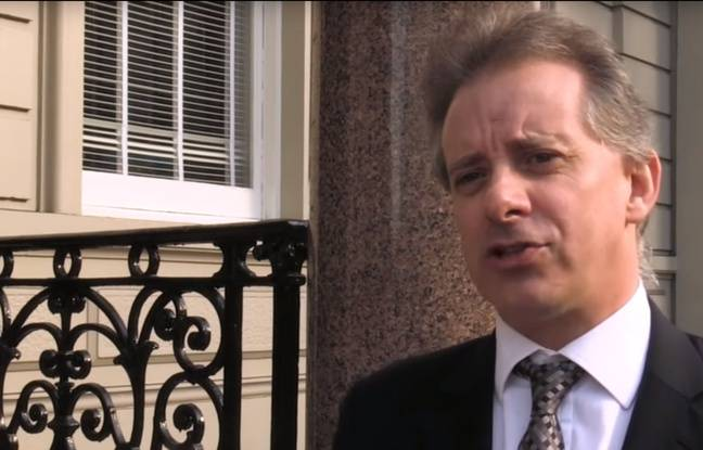 L'ex-espion britannique Christopher Steele, le 7 mars 2017 (capture d'écran).