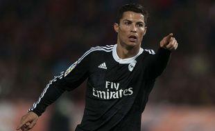 Cristiano Ronaldo lors d'un match contre Almeria le 12 décembre 2014.