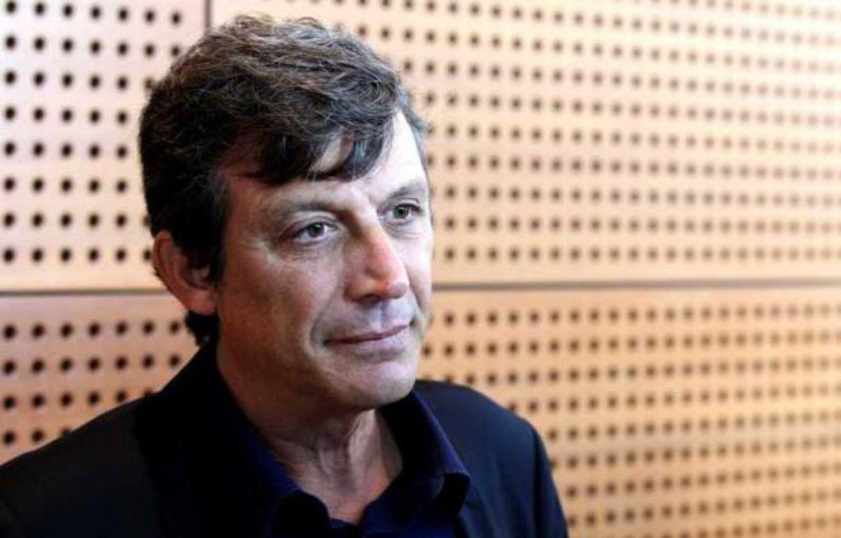 Le porte-parole du PS David Assouline, le 19 septembre 2012, lors des journées parlementaires du parti socialiste à Dijon. – ALAIN ROBERT/APERCU/SIPA