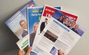 Des professions de foi et programmes des candidats en Pays de la Loire