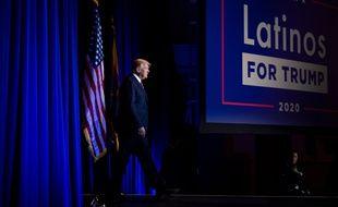 Donald Trump le 14 septembre 2020.