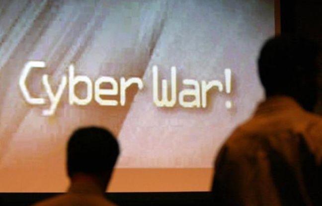 Cyber war, illustration