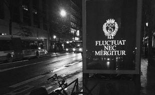 440 affiches comme celles-ci seront visibles jusqu'à la fin de la semaine dans les rues de Paris.