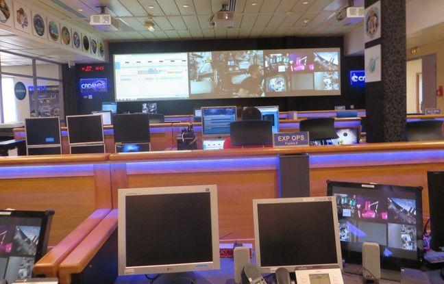 A Toulouse, la salle de contrôle du Cadmos est reliée en live à l'ISS.