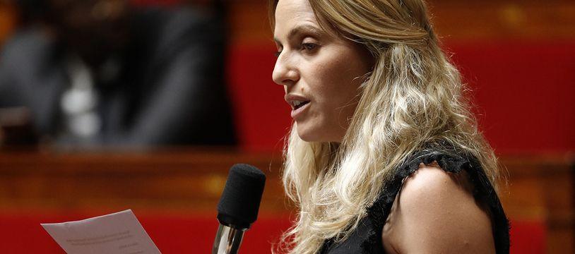La députée LREM Cécile Muschotti, en juin 2019 à l'Assemblée nationale.