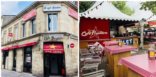 Le Café Populaire est l'un des établissement dont s'occupe Lilian Laslandes.