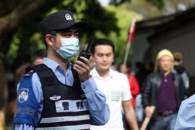 Un policier en Chine (illustration).
