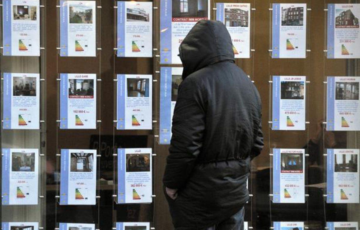 En 2011, les loyers ont augmenté en moyenne de 2,4%dans l'agglomération parisienne,contre 1,6% dans les villes de province. – PHILIPPE HUGUEN / AFP