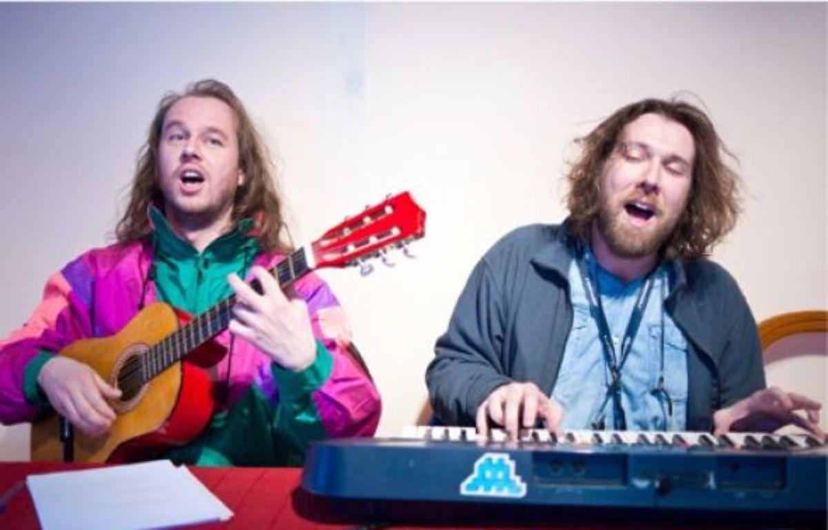 Le duo de chanteurs se lance dans la fiction télé, sur Comédie. –  LANCELOT / SIPA