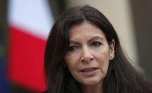 Anne Hidalgo à l'Elysée, le 9 mars 2017.