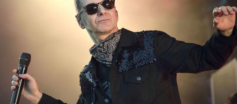 Le chanteur Etienne Daho, ici en 2015 au festival Rock en Seine, est de retour à Rennes pour les Trans Musicales.