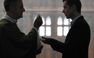 Bernard Verley et Melvil Poupaud dans Grâce à Dieu de François Ozon
