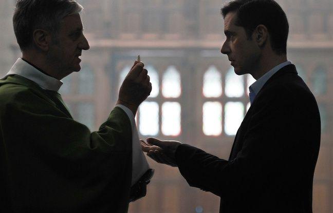 Bernard Verley and Melvil Poupaud in Grace of God by François Ozon