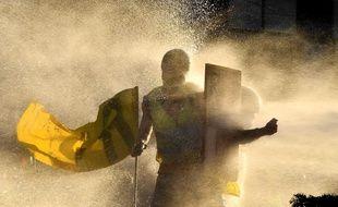 Entre 3.000 et 4.000 «gilets jaunes», selon des manifestants, ont défilé dans les rues de Bordeaux samedi 23 février 2019.