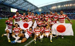 Le Japon s'est imposé contre l'Afrique du Sud le 19 septembre 2015.