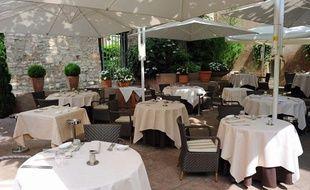 Le restaurant Il Cortile, à Mulhouse.