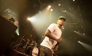 Le rappeur Kendrick Lamar