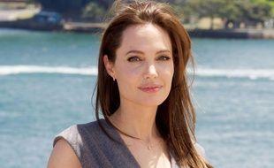 Angelina Jolie, le 18 novembre 2014, à Sydney.