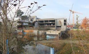 Le bâtiment qui devait accueillir une école à la Courrouze sera transformé en immeuble de bureaux par le groupe Legendre.
