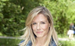 L'animatrice télé Louise Ekland.
