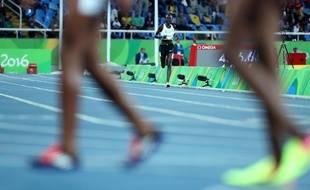 L'athlète Anjelina Nadai Lohalith participait aux JO de Rio pour l'équipe des réfugiés, en 2016.