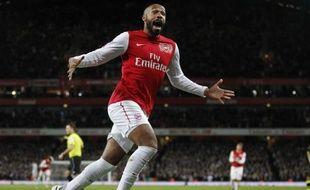 Thierry Henry qui a joué les 20 dernières minutes du match pour son retour avec le club de son coeur Arsenal, a inscrit le but de la victoire contre Leeds (1-0) lundi soir à l'Emirates Stadium en trente-deuxièmes de finale de la Coupe d'Angleterre.
