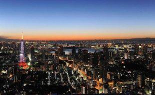 Vue aérienne de Tokyo