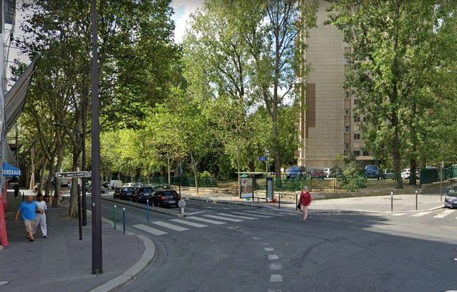 Le croisement de la rue des Fougères et de la rue Léon Frapié, dans le 20e arrondissement de Paris.
