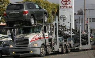 """Dans un communiqué, Toyota réaffirme avoir enquêté """"rapidement et minutieusement sur toutes les dossier d'accélérations incontrôlées""""."""
