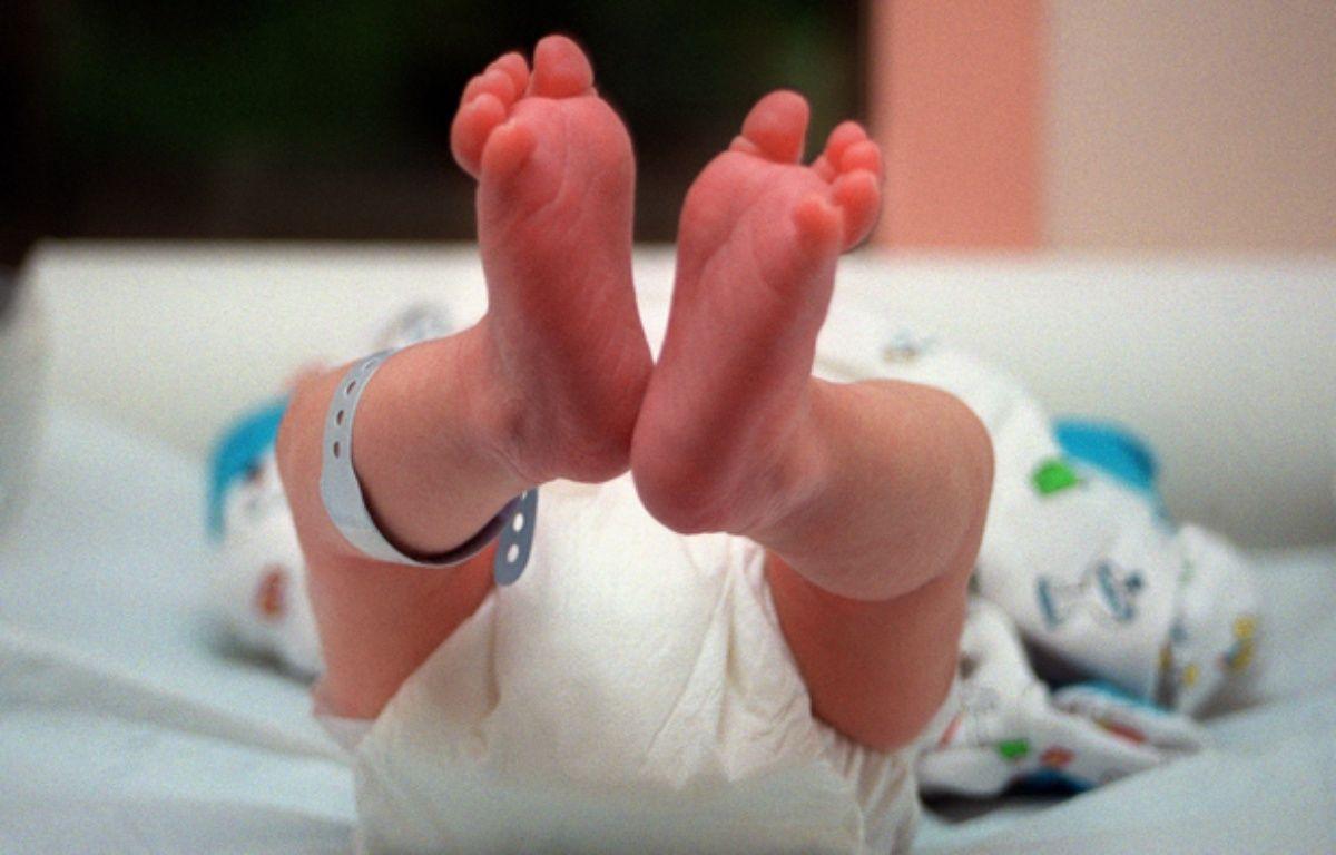 Un bébé nouveau-né (illustration).  – DIDIER PALLAGES / AFP