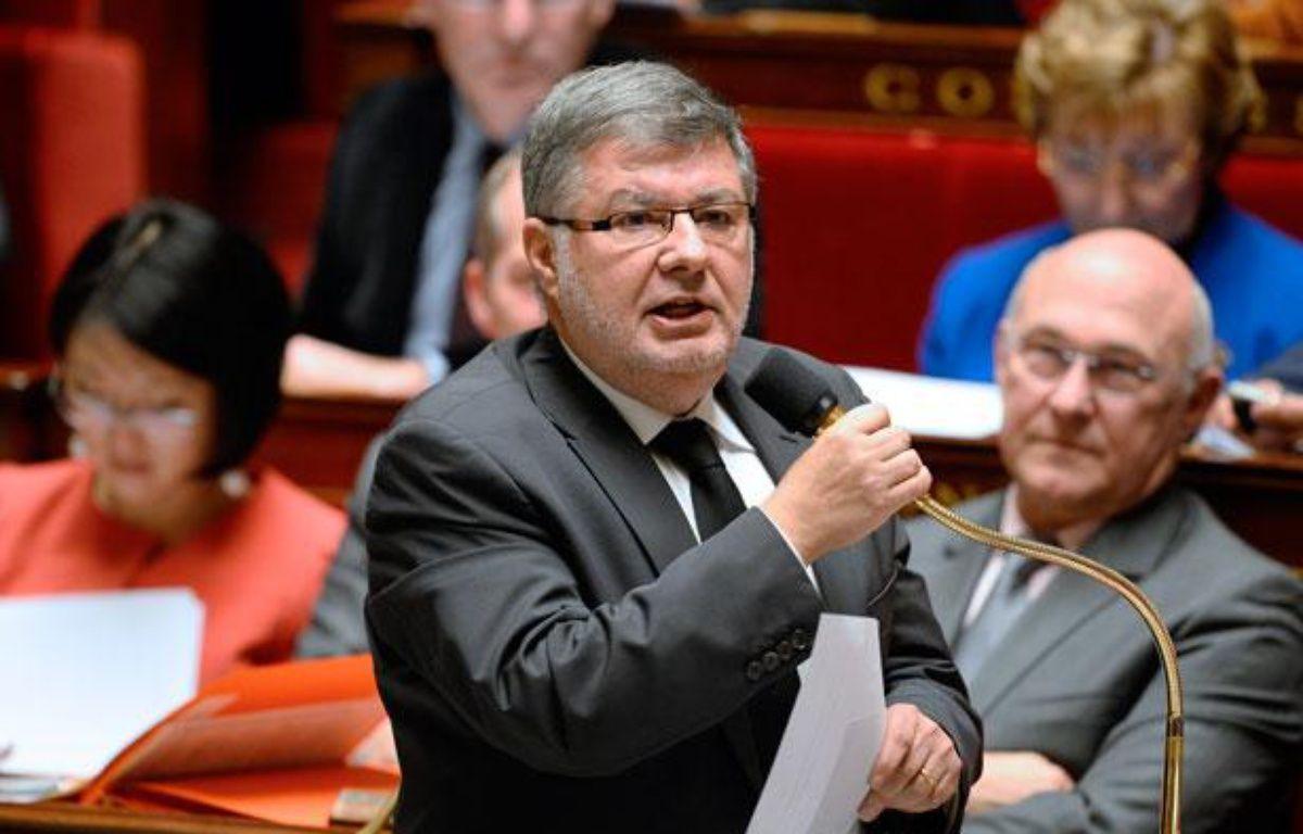 AlainVidalies, ministre chargé des Relations avec le Parlement, à l'Assemblée nationale le 29 janvier 2014. – LIONEL BONAVENTURE / AFP