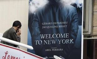 "L'affiche du film ""Welcome to New York"" le 16 mai 2013 à Cannes"