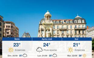 Météo Lyon: Prévisions du samedi 19 septembre 2020