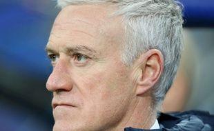 Deschamps l'a mauvaise après la défaite des Bleus face à la Colombie au Stade de France.