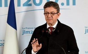 Jean-Luc Mélenchon après le premier tour de la présidentielle