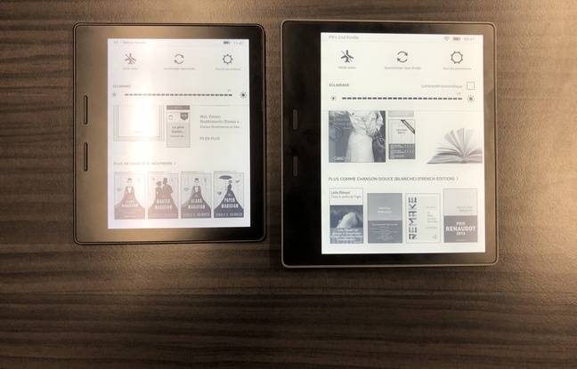 La nouvelle tablette-liseuse de 7 pouces d'Amazon — Kindle Oasis