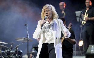 Michèle Torr en concert.