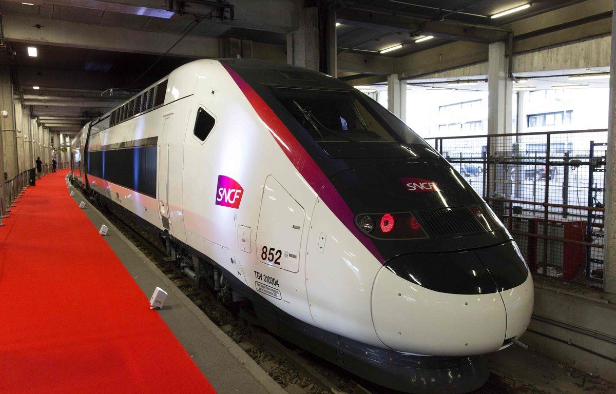 Le nouveau TGV de la SNCF. AFP PHOTO / GEOFFROY VAN DER HASSELT – AFP