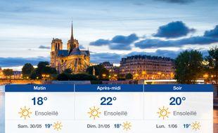 Météo Paris: Prévisions du vendredi 29 mai 2020