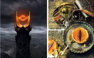 L'oeil de Sauron, du «Seigneur des anneaux», a inspiré les auteurs du livre de recettes geek «Gastronogeek».
