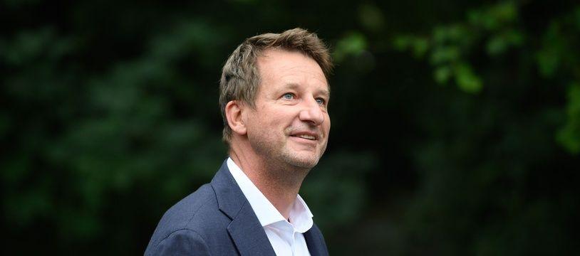 Yannick Jadot, députe européen et candidat à la primaire EELV pour la présidentielle 2022.